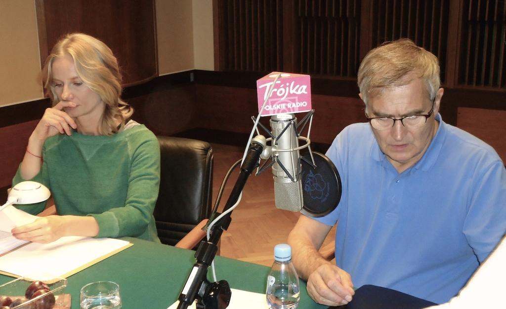 Serial radiowy RZECZY. IWASZKIEWICZ INTYMNIE. Czyta Magdalnena Cielecka i Olgierd Aukaszewicz. Fot. Wilk&Kro%01l Oficyna Wydawnicza