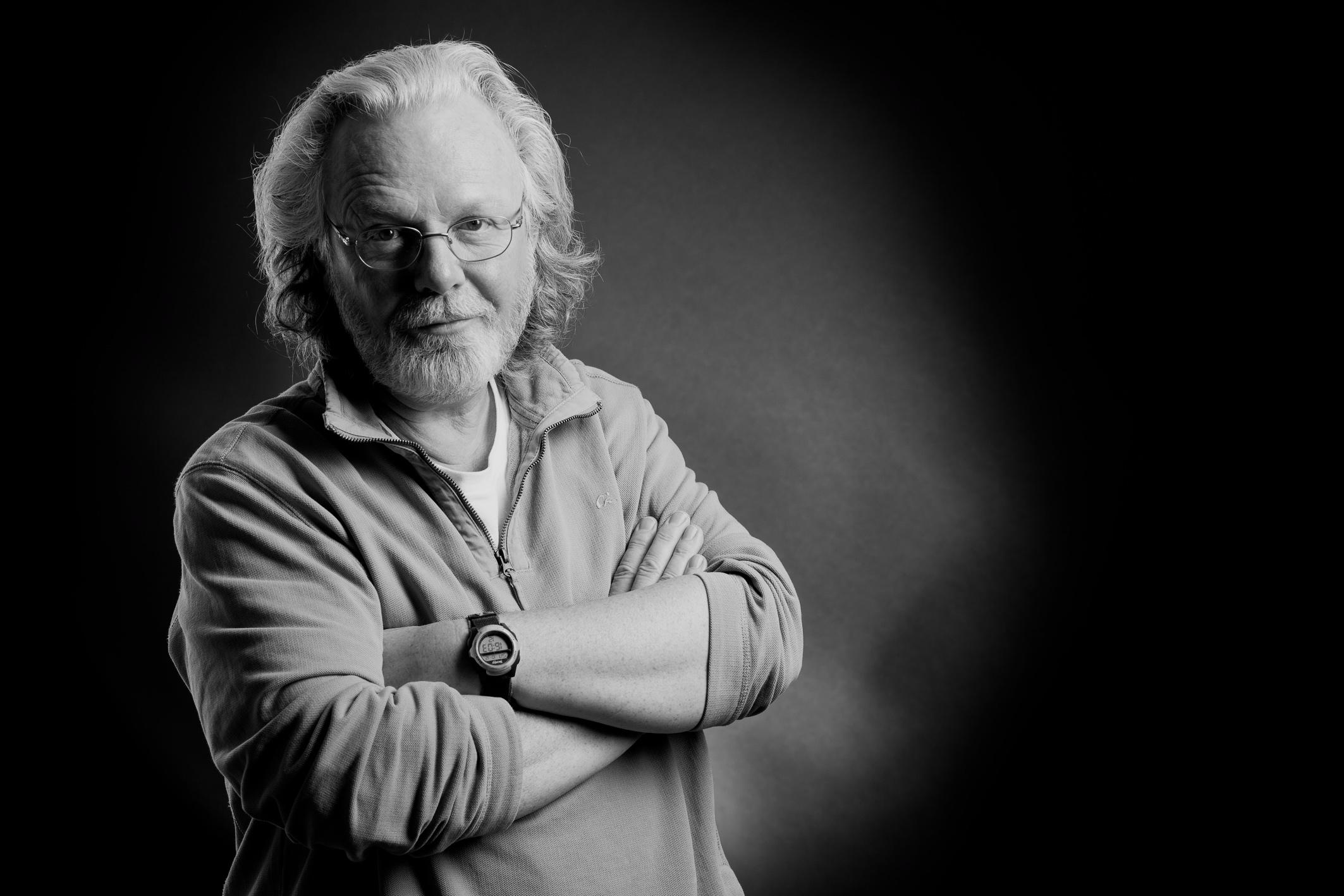 Peter May pendant le salon Polars du Sud à Toulouse en 2013