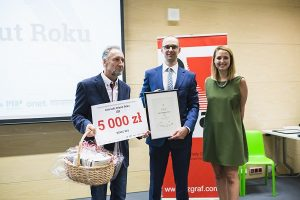 Lech Grabowski - zwycięzca V edycji Konkursu Literacki Debiut Roku, fot Czarna Zebra