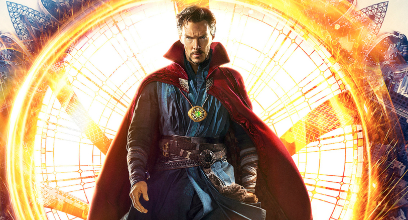 Doctor-strange-trailer-poster-comic