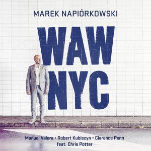 Marek Napiórkowski WAW-NYC okładka