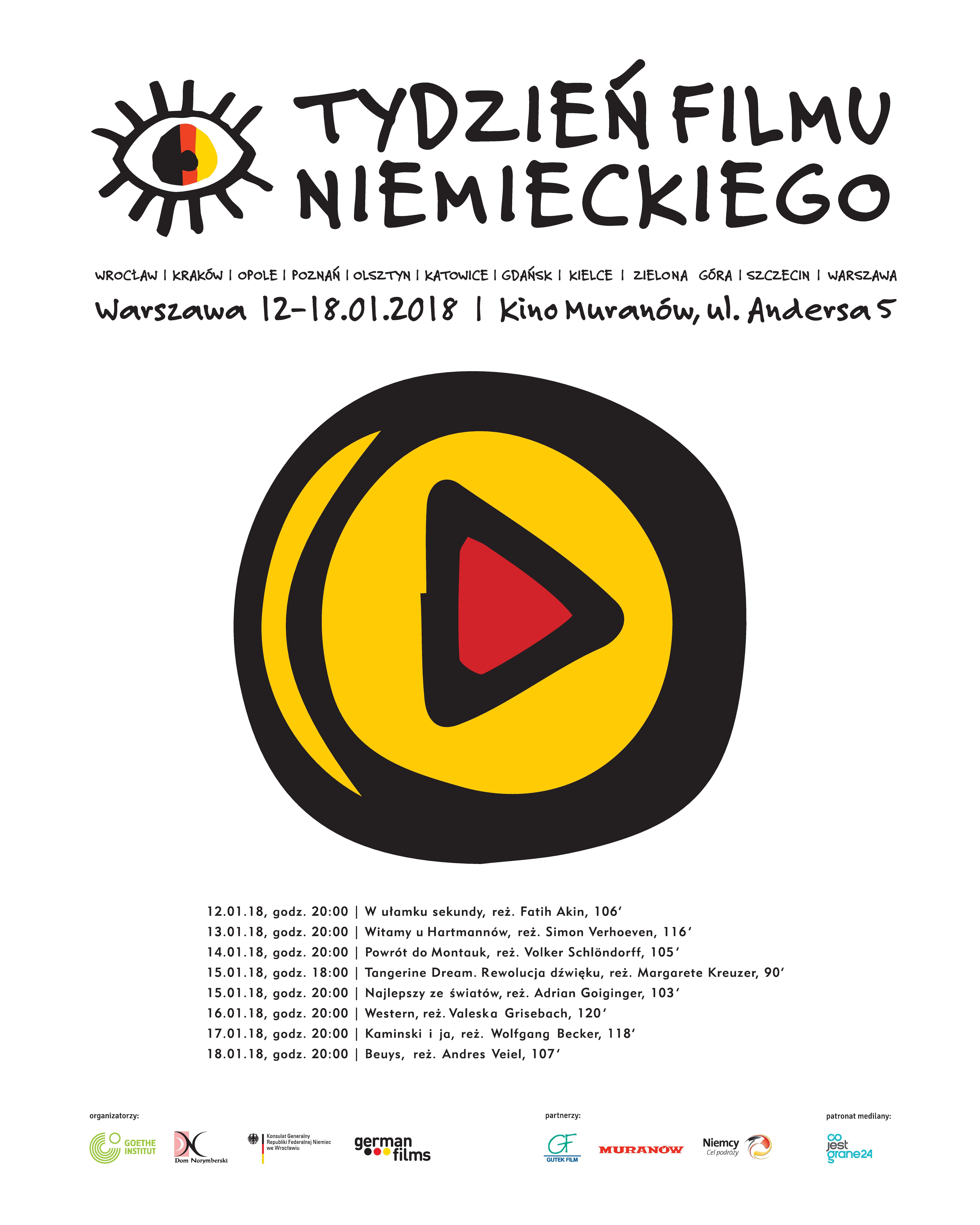 Tydzień Filmu Niemieckiego w Warszawie_styczeń 2018