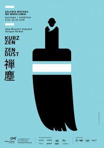 plakat wystawy KURZ ZEN
