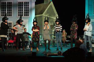 Próba scenicza do musicalu Czarownice z Eastwick (fot. P.Rybałtowski)