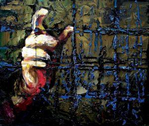 Reka Proroka, 55x60, 2008_1000
